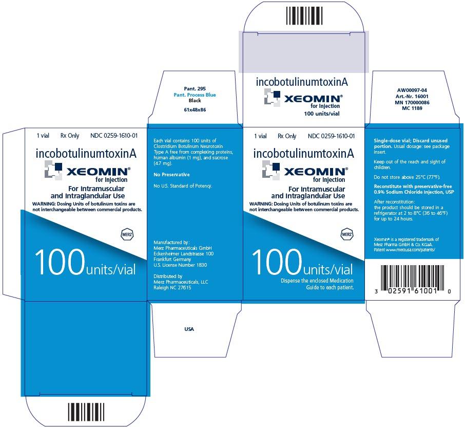 PRINCIPAL DISPLAY PANEL - 50 Units/Vial Carton - Physician Sample