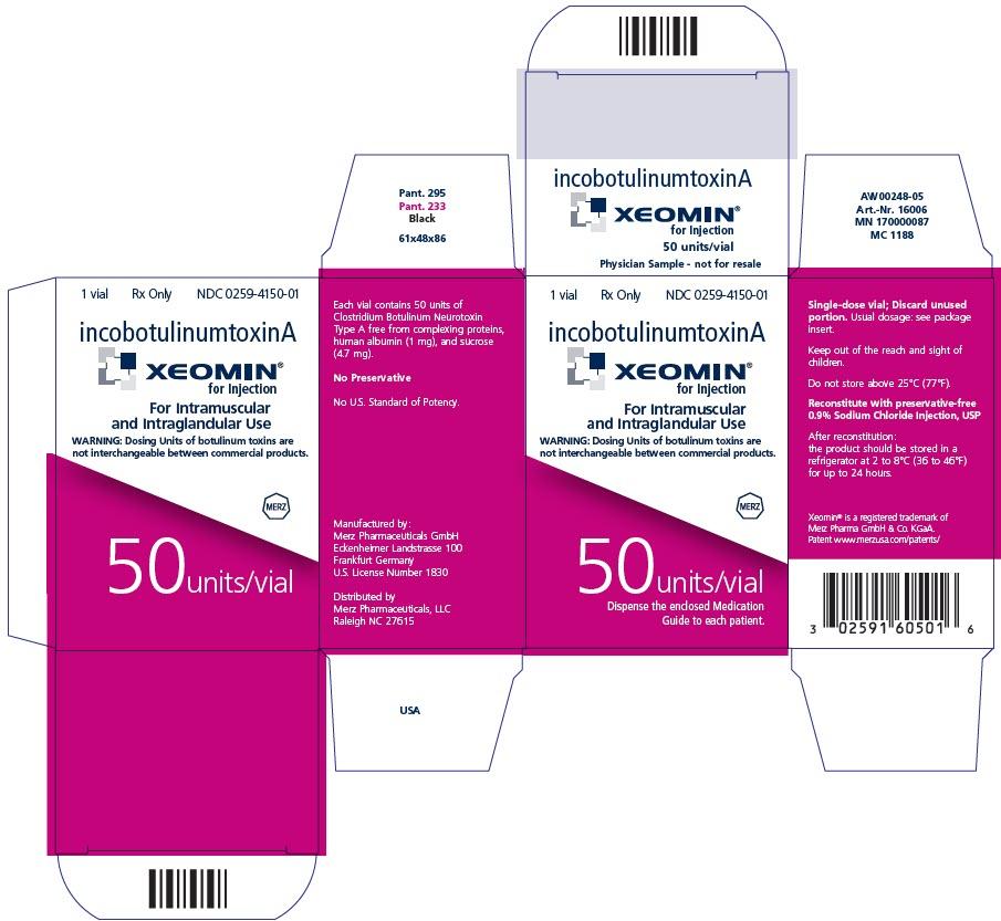 PRINCIPAL DISPLAY PANEL - 100 Units/Vial Label - Physician Sample