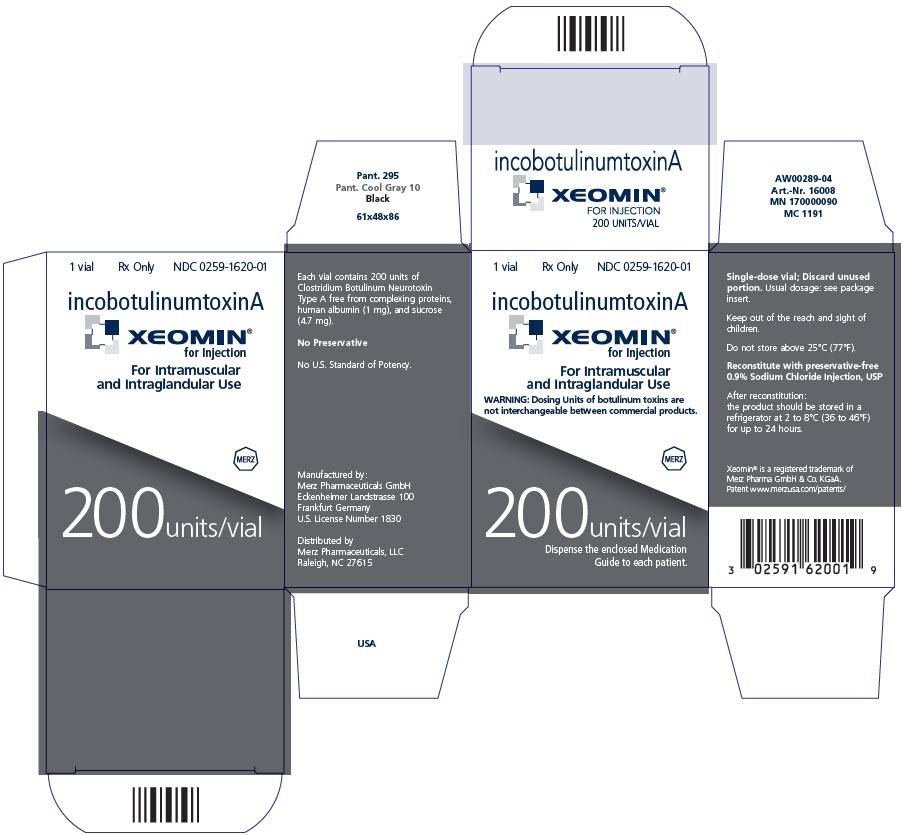 PRINCIPAL DISPLAY PANEL - 200 Units/Vial Label