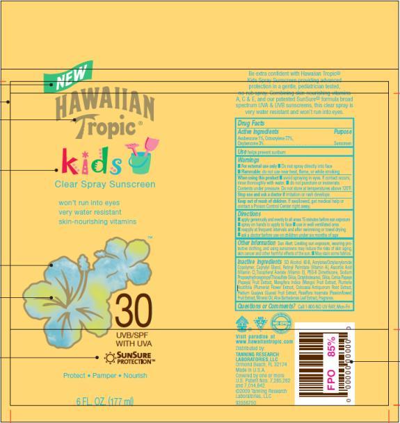 PRINCIPAL DISPLAY PANEL Hawaiian Tropic Kids SPF 30