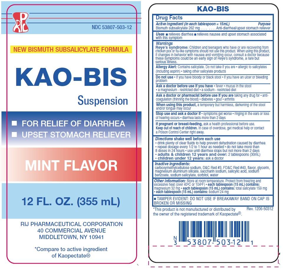 Bismuth label