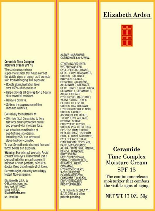 Ceramide Time Complex Moisture Cream Spf 15 (Octinoxate) Cream [Elizabeth Arden, Inc]