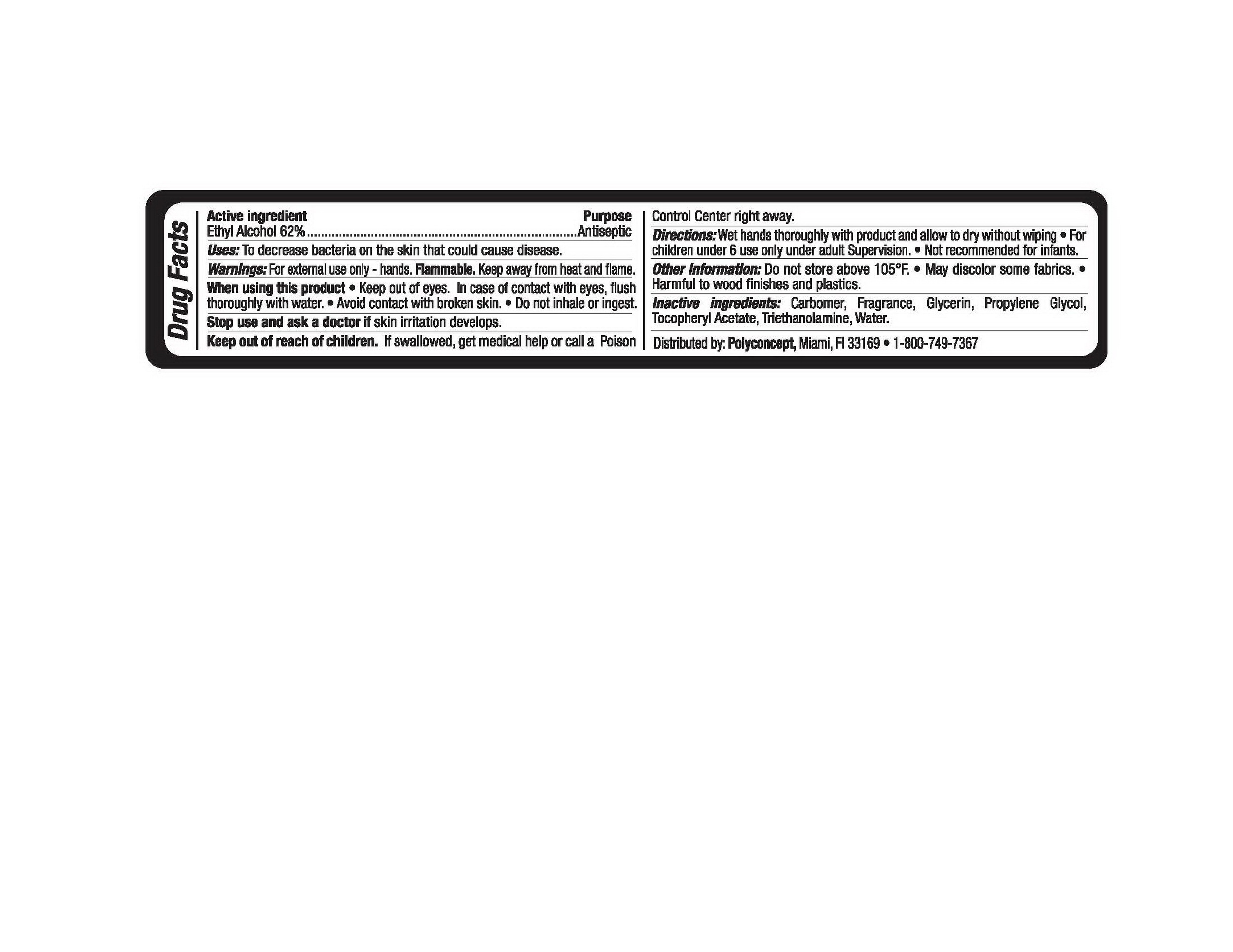 Hand Sanitizer (Alcohol) Liquid [Ningbo Kleen Products Co., Ltd.]
