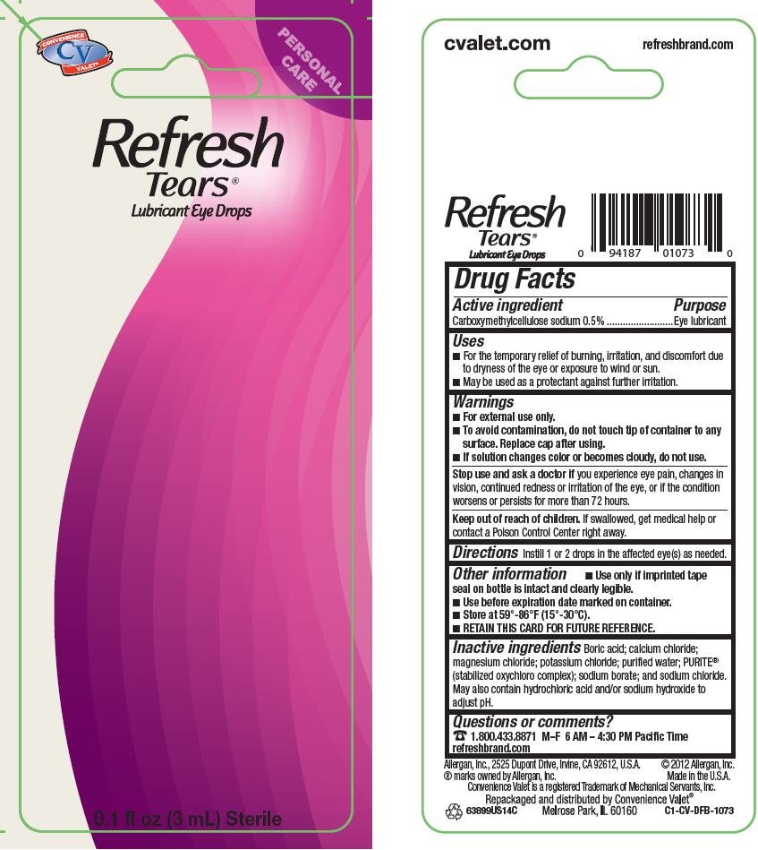 Refresh Tears (Carboxymethylcellulose Sodium) Solution/ Drops [Mechanical Servants, Inc.]