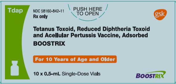 Boostrix (Tetanus Toxoid, Reduced Diphtheria Toxoid And Acellular Pertussis Vaccine, Adsorbed) Suspension [Glaxosmithkline Biologicals Sa]