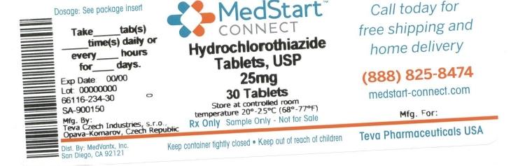 Hydrochlorothiazide Tablet [Medvantx, Inc.]