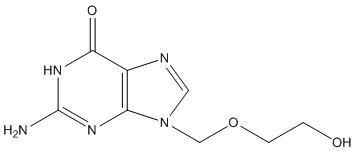 Acyclovir Structural Formula