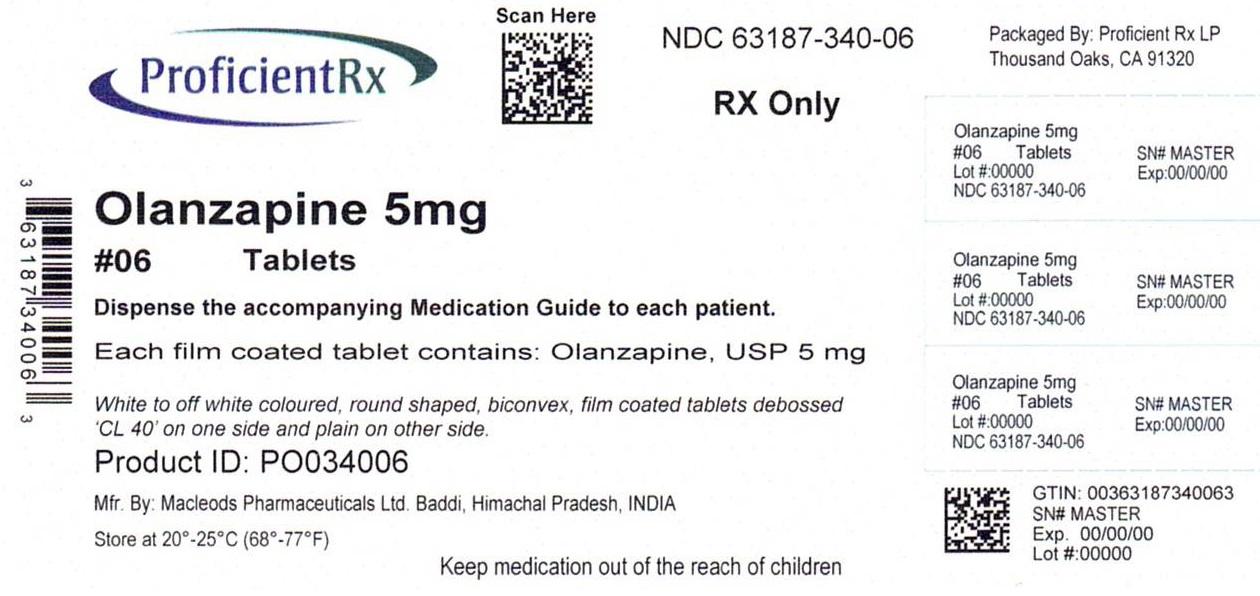 Olanzapine Tablet, Film Coated [Proficient Rx Lp]