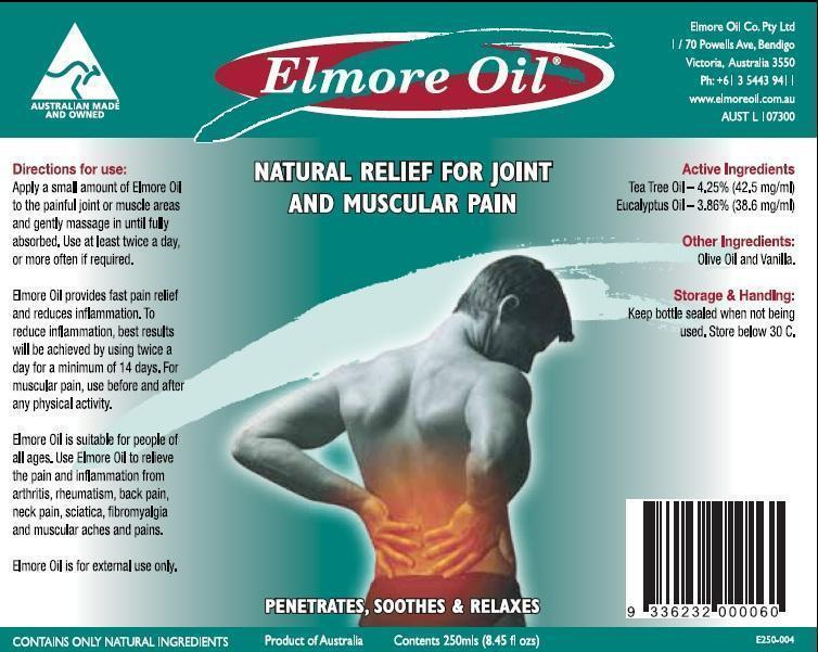 Elmore Oil (Tea Tree Oil And Eucalyptus Oil) Oil [Elmore Oil Company Pty Ltd]