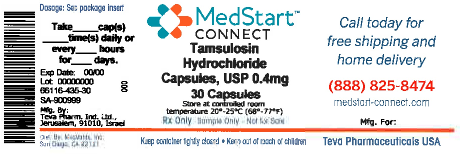 Tamsulosin Hydrochloride Capsule [Medvantx, Inc.]