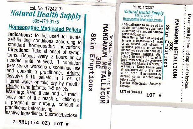 Skin Eruptions (Manganese) Pellet [Natural Health Supply]