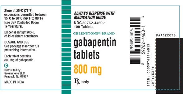 PRINCIPAL DISPLAY PANEL - 800 mg Tablet Bottle Label