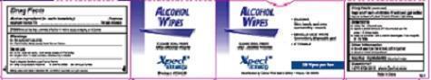 Alcohol Wipe (Isopropyl Alcohol) Swab [Cintas Corporation]