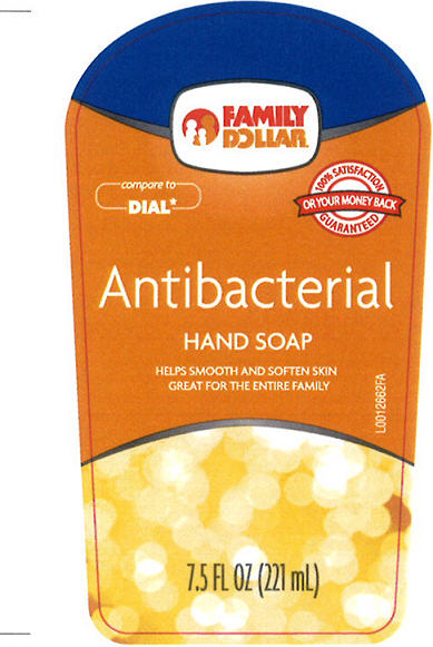 Antibacterial Hand (Triclosan) Liquid [Family Dollar Services Inc]
