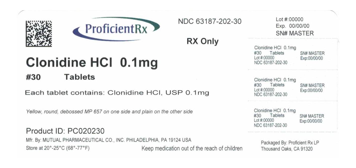 Clonidine Hydrochloride Tablet [Proficient Rx Lp]