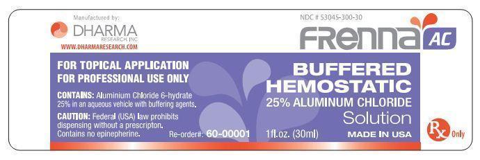 Frenna Ac (Aluminum Chloride) Solution [Dharma Research, Inc.]