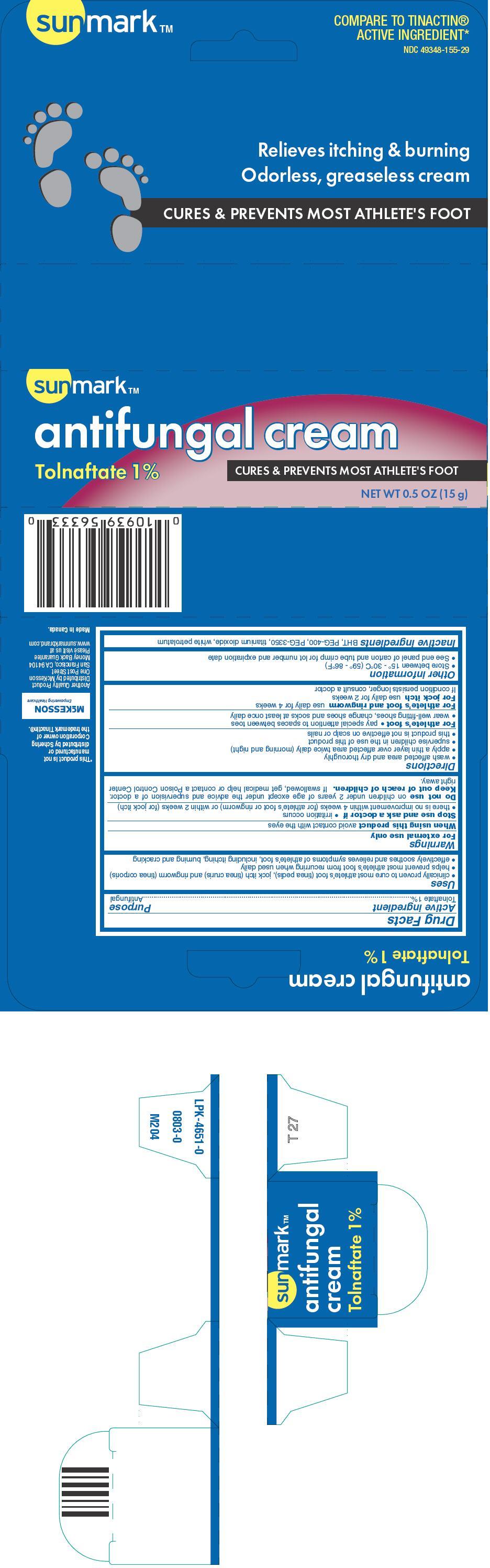 Sunmark Antifungal (Tolnaftate) Cream [Mckesson]