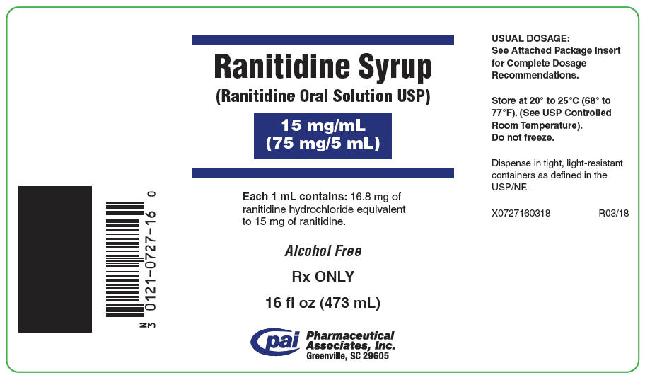 Ranitidine Solution [Pharmaceutical Associates, Inc.]