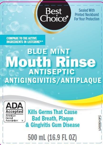 Antispetic (Eucalyptol, Menthol, Methyl Salicylate, Thymol) Mouthwash [Valu Merchandisers, Co]