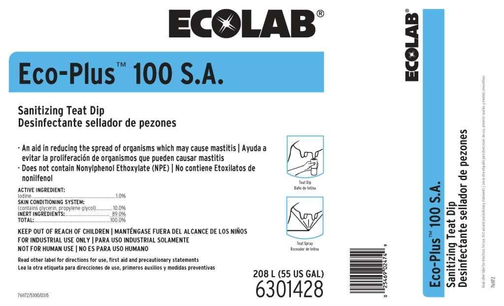 Eco-plus (Iodine) Solution [Ecolab Inc.]