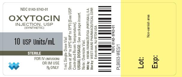 Oxytocin Injection [West-ward Pharmaceutical Corp]