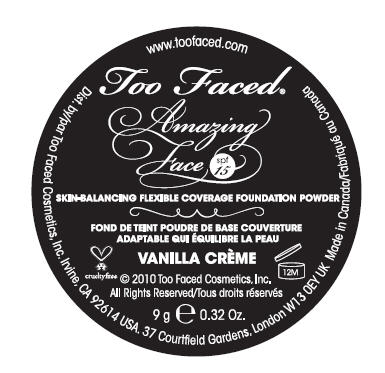 Amazing Face (Octisalate And Octinoxate) Powder [Cosmetica Laboratories Inc.]