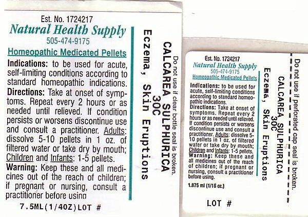 Eczema Skin Eruptions (Calcium Cation) Pellet [Natural Health Supply]