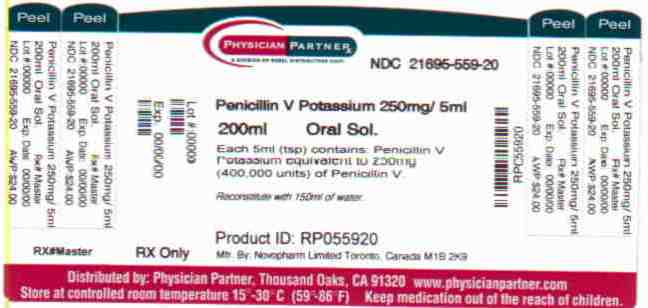 Penicillin V Potassium 250mg/5ml
