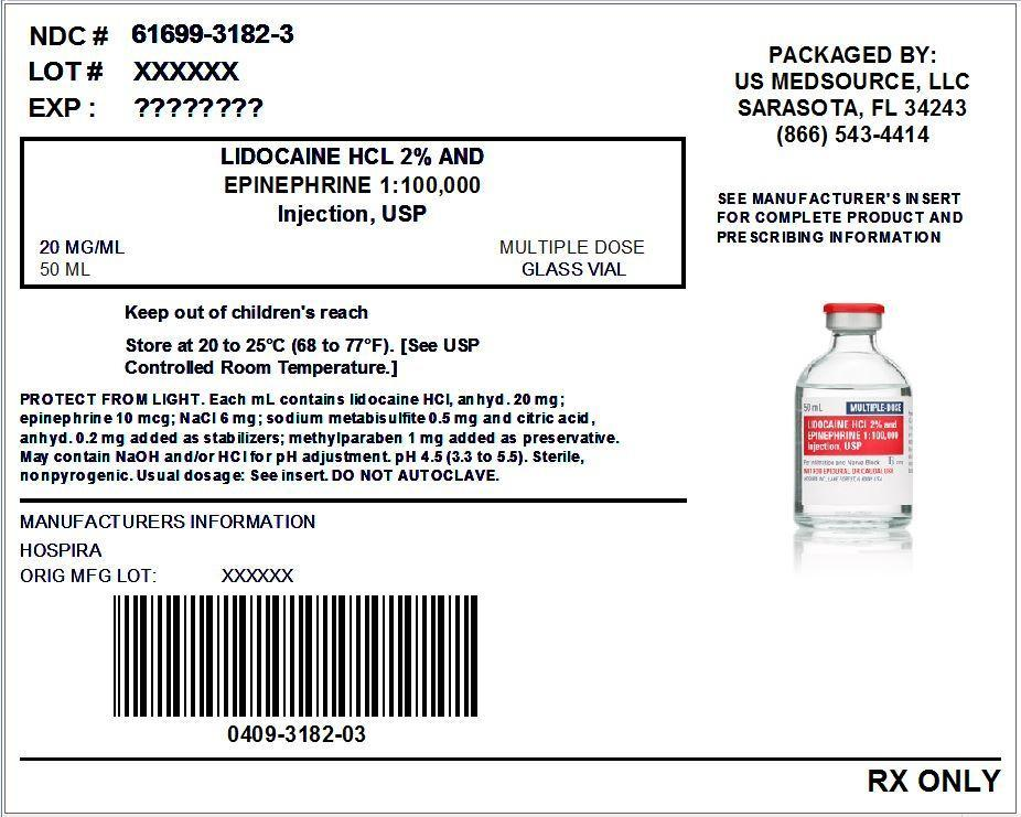 Lidocaine Hydrochloride And Epinephrine (Lidocaine Hydrochloride Anhydrous And Epinephrine) Injection, Solution [Us Medsource, Llc]