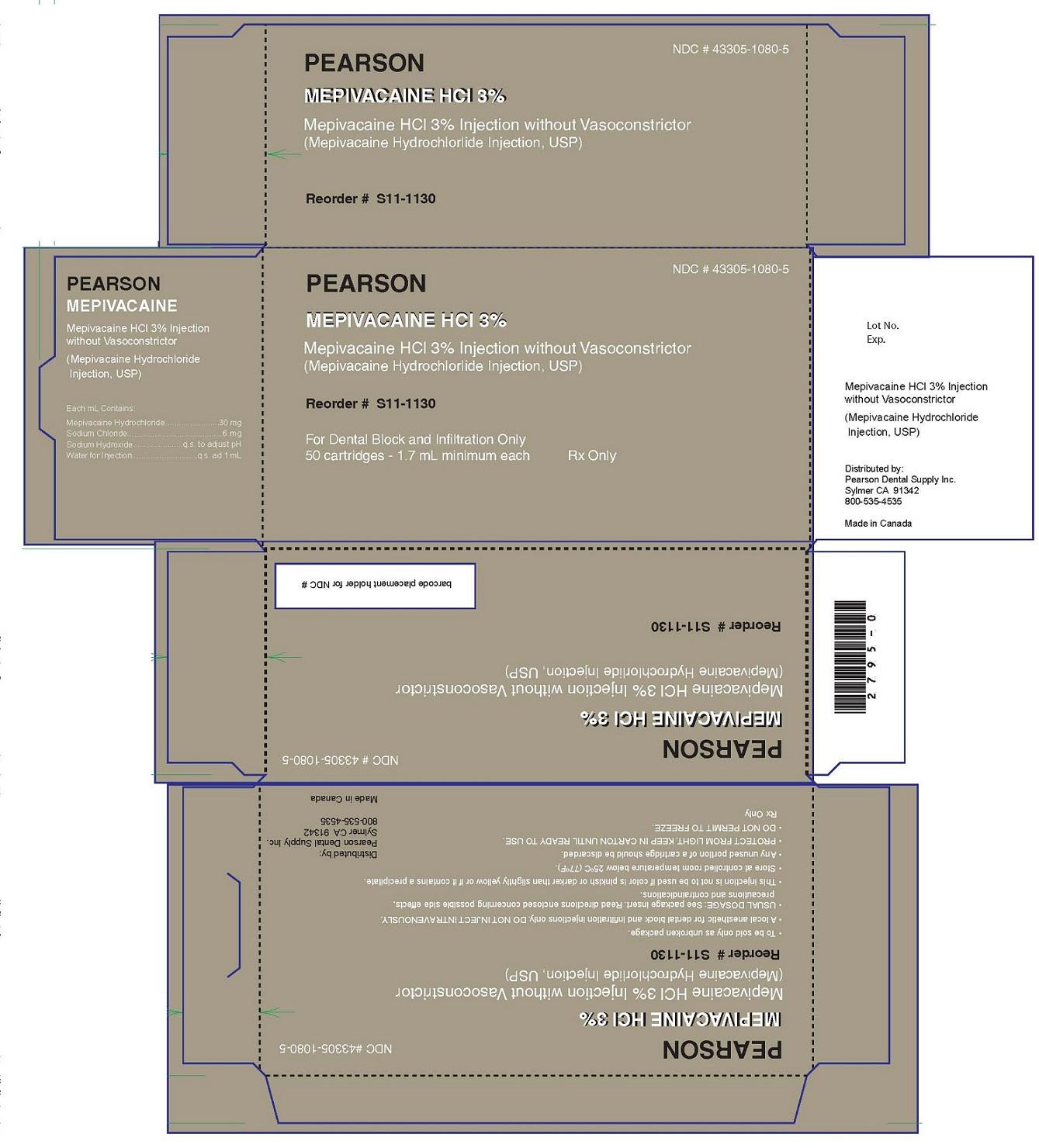 PRINCIPAL DISPLAY PANEL - 1.7 mL Cartridge Carton