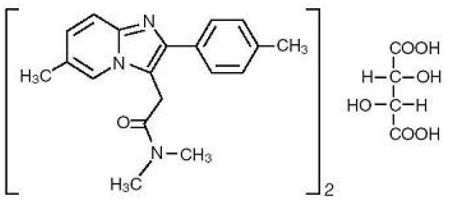 Zolpidem Structure Formula