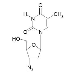 Zidovudine chemical structure