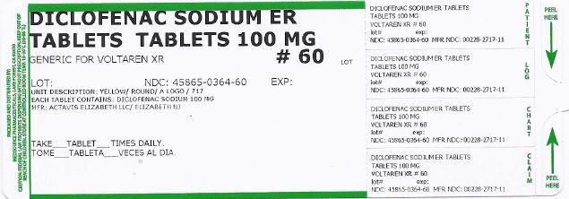 Diclofenac Sodium Extended-release (Diclofenac Sodium) Tablet, Extended Release [Medsource Pharmaceuticals]
