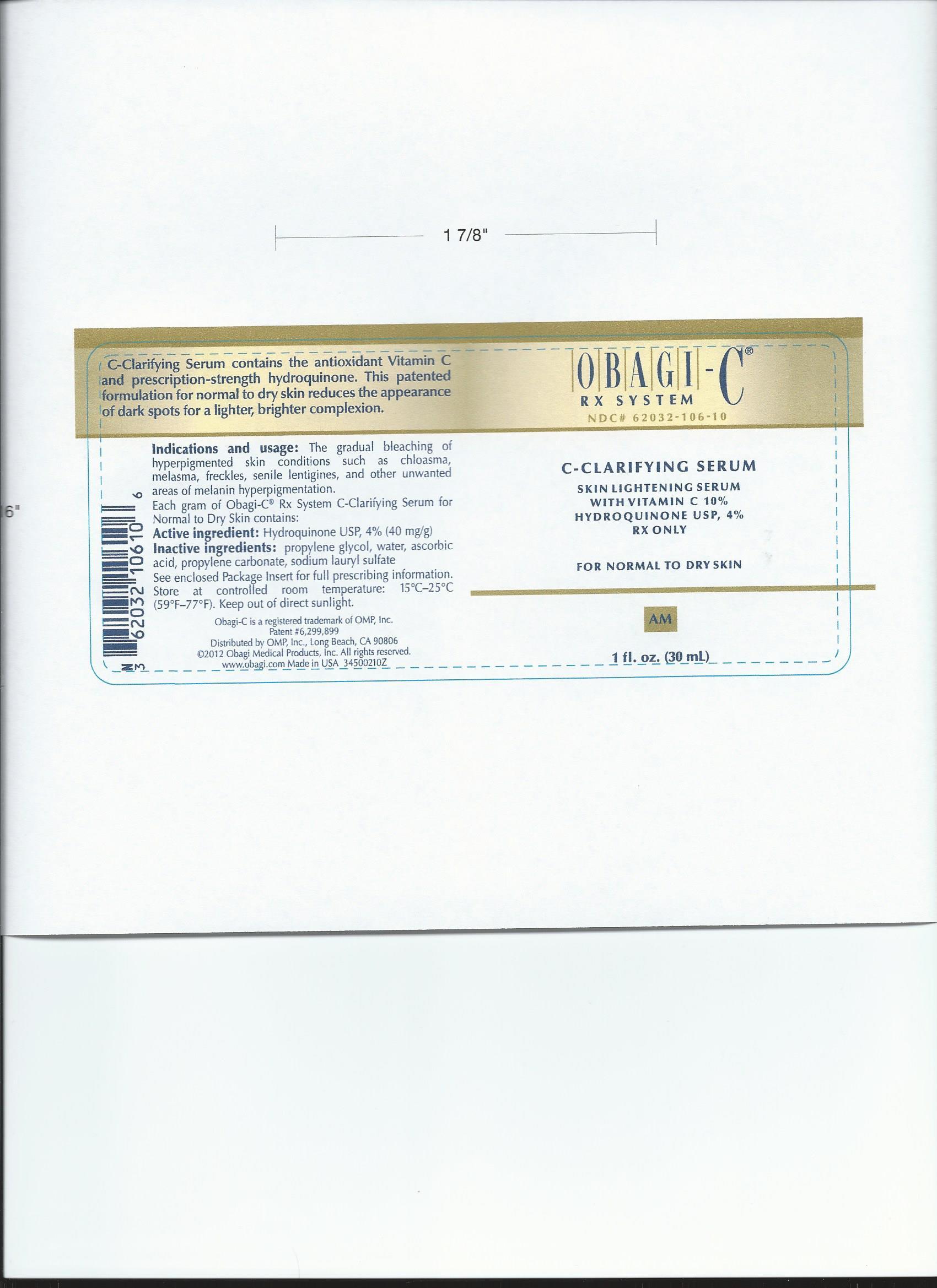 Obagi – C (Hydroquinone) Liquid [Ys Plus Corporation]