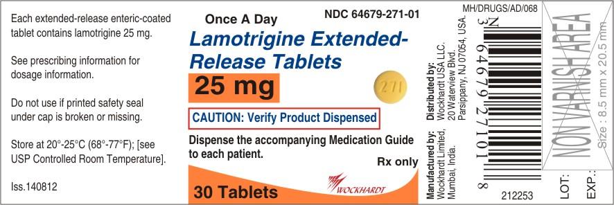 Lamotrigine Tablet, Extended Release [Wockhardt Limited]