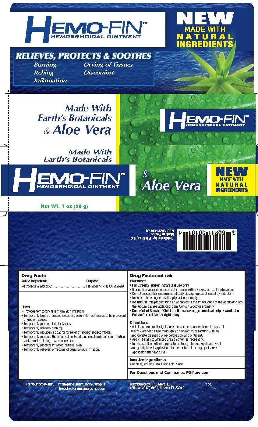 Hemo Fin (Petrolatum) Ointment [Pd Merc Llc]