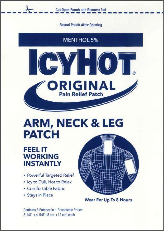 Pouch Label - Arm, Neck, & Leg