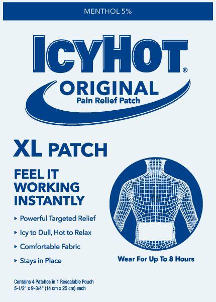 Pouch Label - XL Back - Bonus