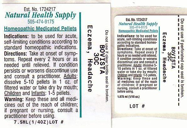 Eczema Headache Label
