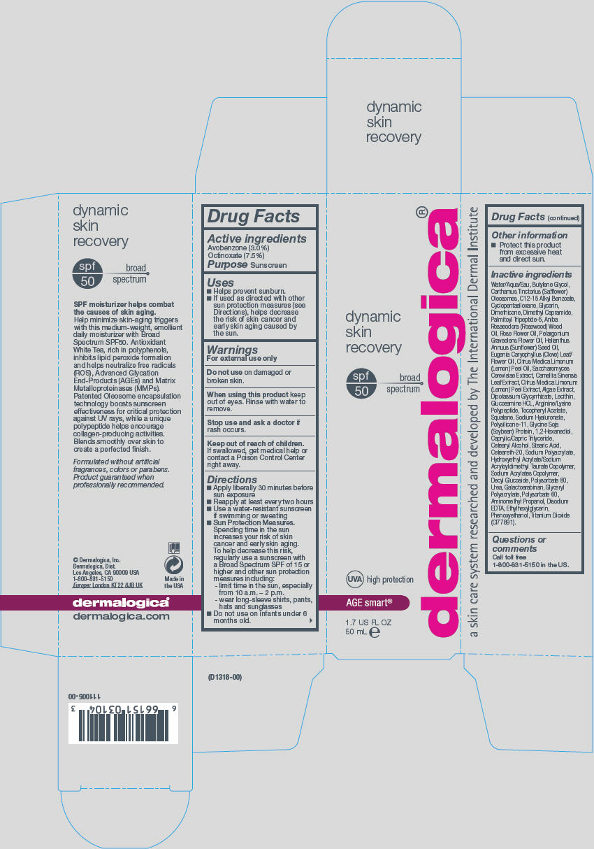Dynamic Skin Recovery Spf 50 (Avobenzone And Octinoxate) Lotion [Dermalogica, Inc.]