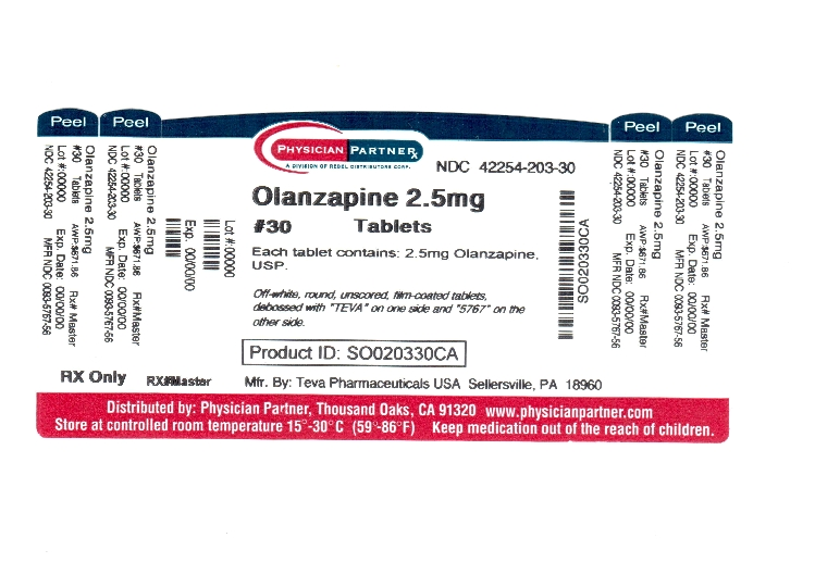 Olanzapine 2.5mg