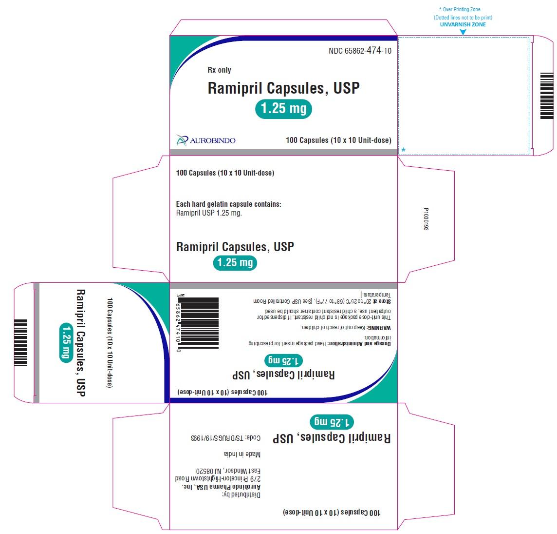 PACKAGE LABEL-PRINCIPAL DISPLAY PANEL - 2.5 mg Blister Carton (10 x 10 Unit-dose)