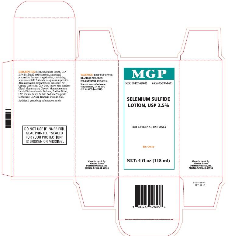 Selenium Sulfide Lotion, USP 2.5% Carton