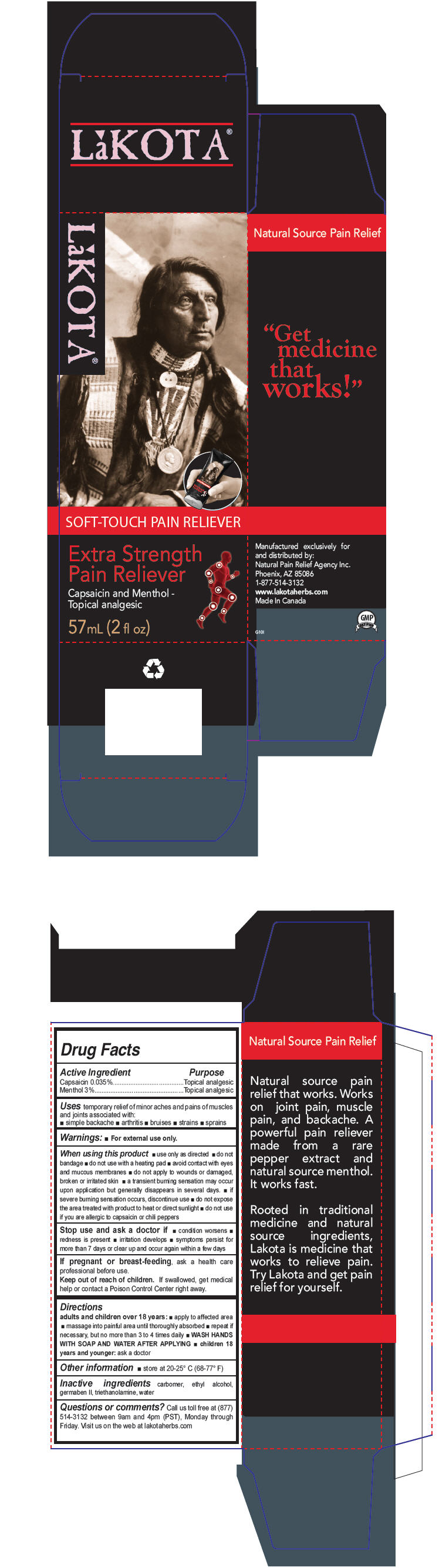 Extra Strength Pain Reliever (Capsaicin And Menthol, Unspecified Form) Cream [Hpi Health Products Inc.]