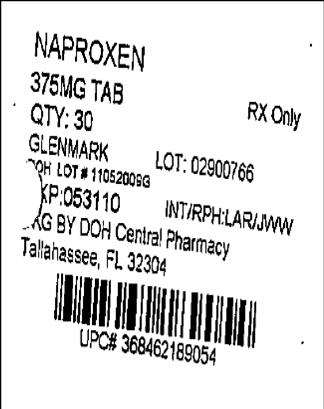Naproxen 375mg Label