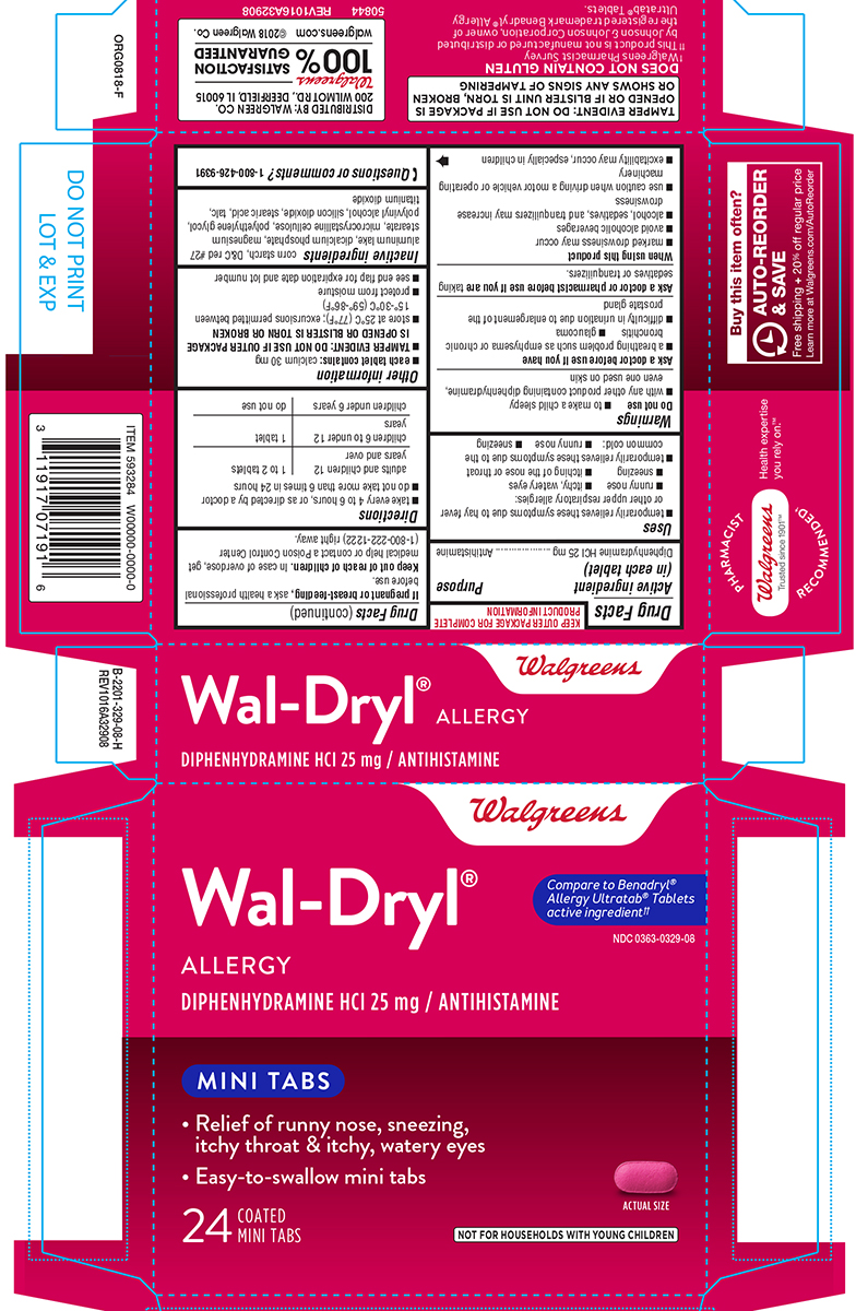 Wal-dryl Allergy (Diphenhydramine Hcl) Tablet [Walgreen Co.]