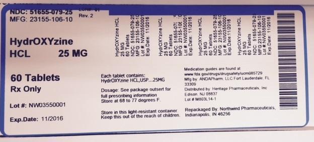 Metoprolol Tartrate Tablet [Northwind Pharmaceuticals, Llc]
