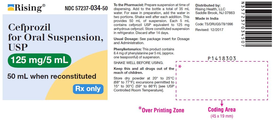 Cefprozil Powder, For Suspension [Citron Pharma Llc]