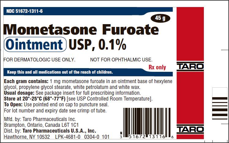 DailyMed - MOMETASONE FUROATE- mometasone furoate ointment