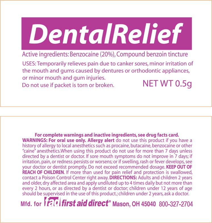 Dental Relief (Benzocaine) Liquid [Cintas First Aid & Safety]
